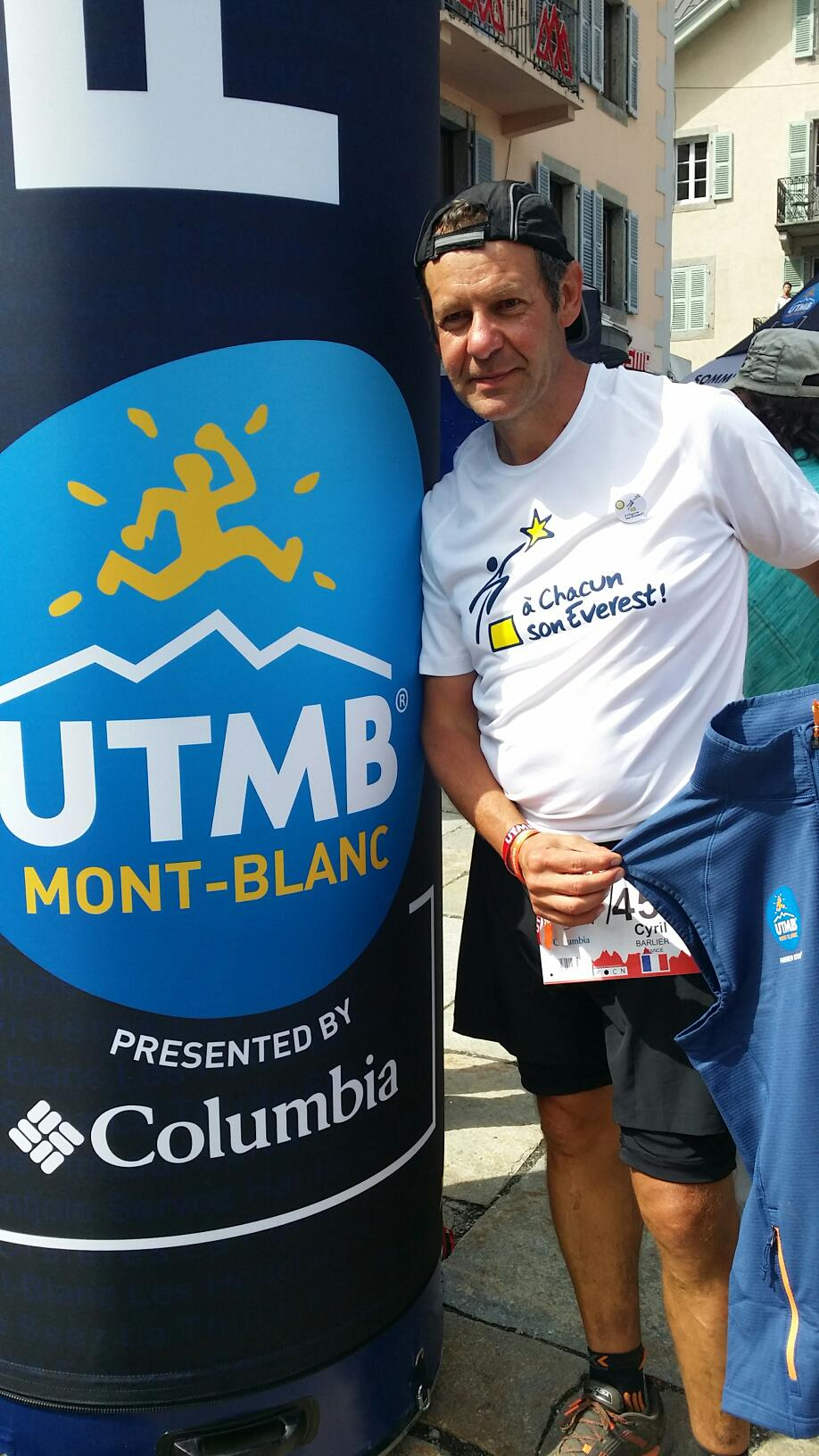 Cyril, le grand Bleu du Mont Blanc